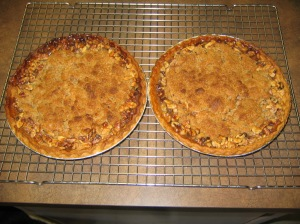 Apple Crumble Pies