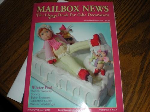 mailbox news - cake decorating