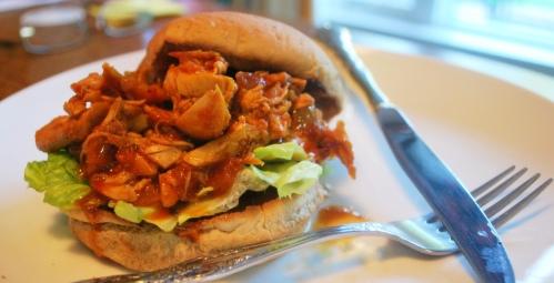 Teddy's BBQ Chicken Sandwich